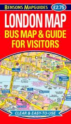 9781898929192 London Map - Bus Map & Guide for Visitors