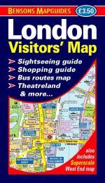 9781898929222 London Visitors' Map