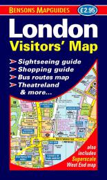 9781898929222 London Visitors' Map