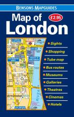 9781898929291 Map of London (Bensons MapGuides)