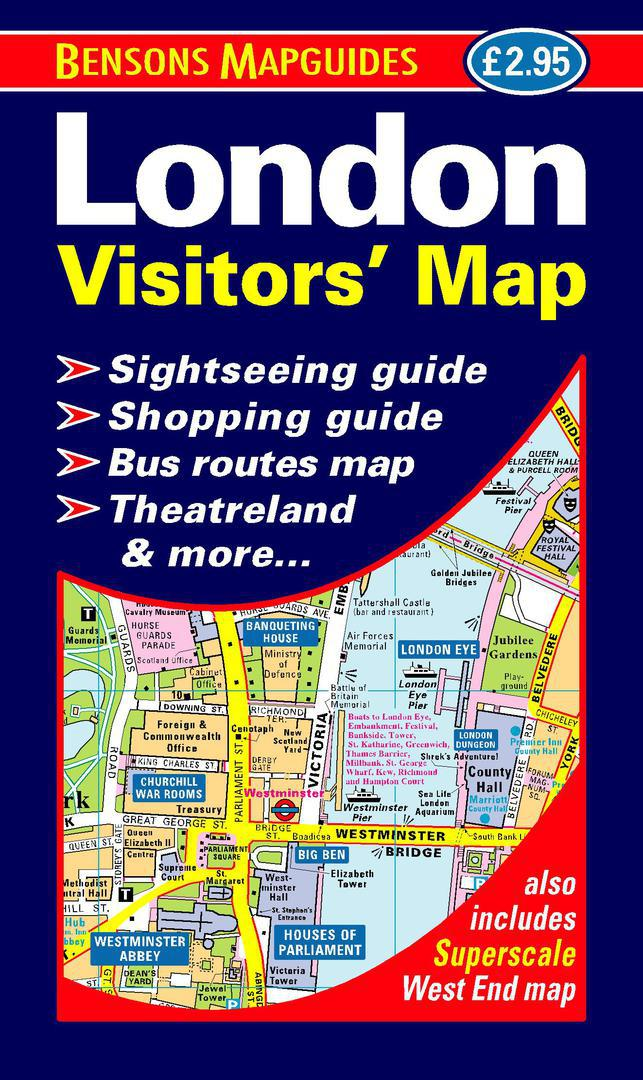 9781898929222 london visitors map