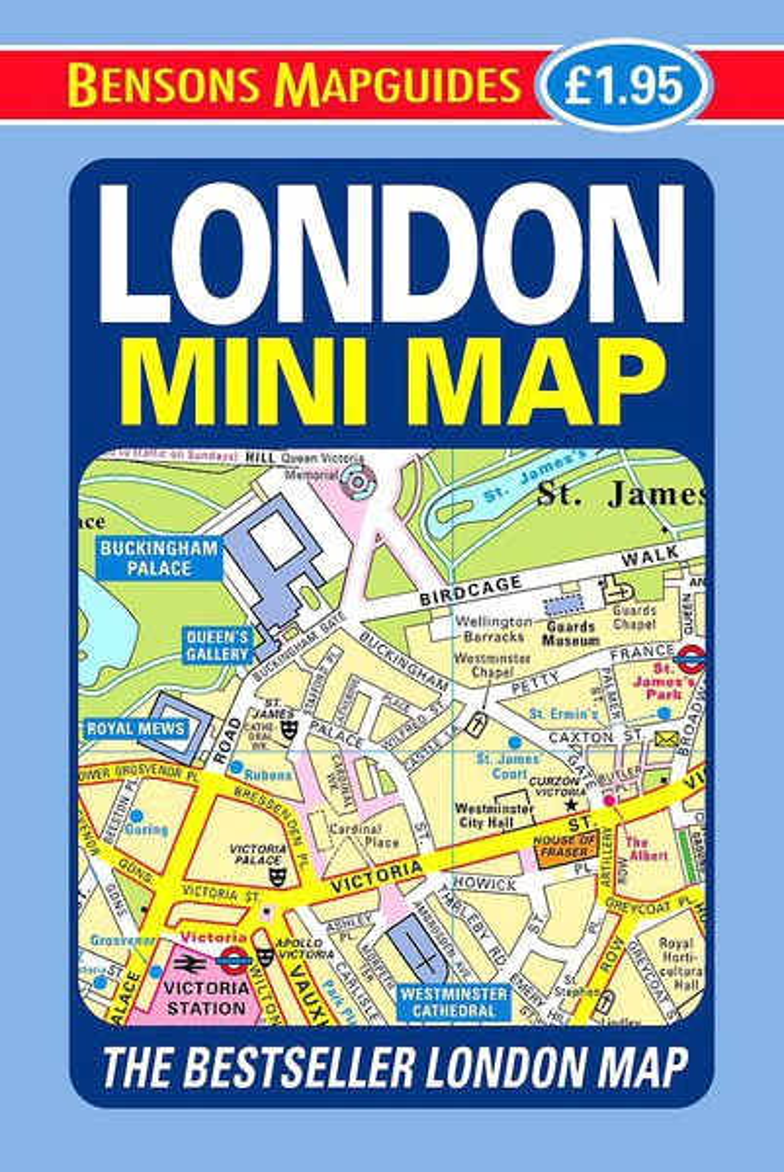 9781898929536 london mini map
